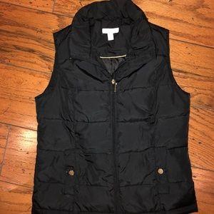 Charter Club Black Vest